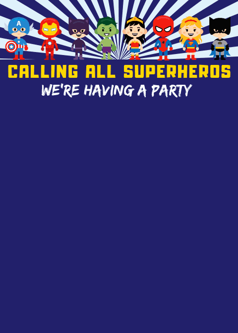Free Superhero Invitation Template Fresh Free Superhero Printables