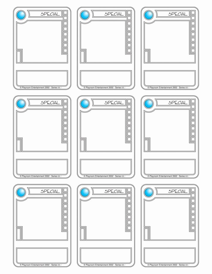 Free Trading Card Template Download New Trading Card Template