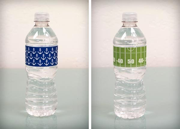 Free Water Bottle Labels Luxury Bump Smitten Diy Shower Water Bottle Labels Free Download