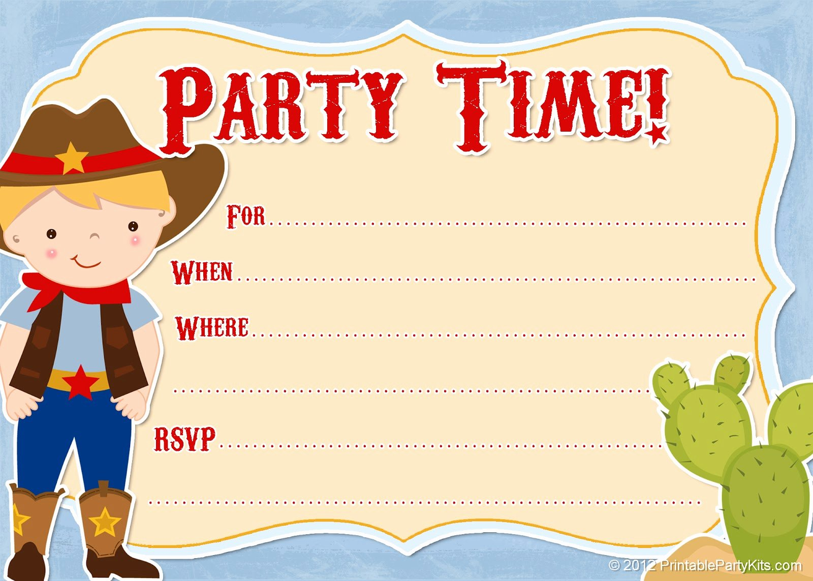 Free Western Invitation Templates Fresh 11 Beautiful and Unique Looking Western Birthday Invitations Design