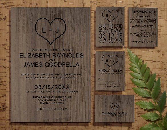 Free Western Invitation Templates Unique 28 Western Wedding Invitation Templates – Free Sample Example format Download