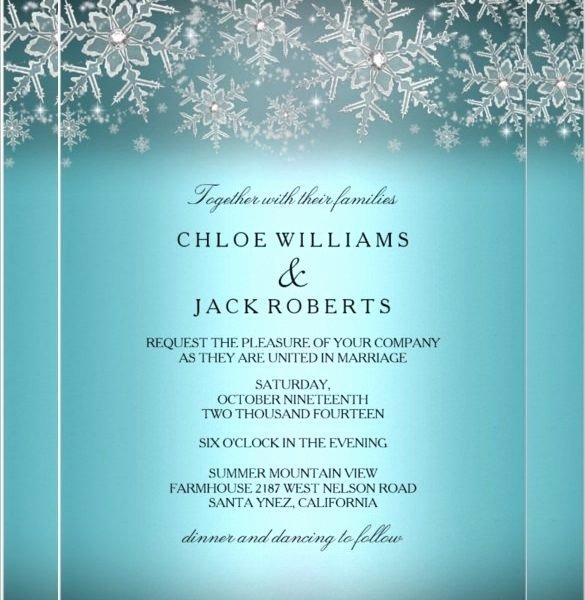Free Winter Wonderland Invitations Templates Best Of Winter Invitation Templates Free Cobypic