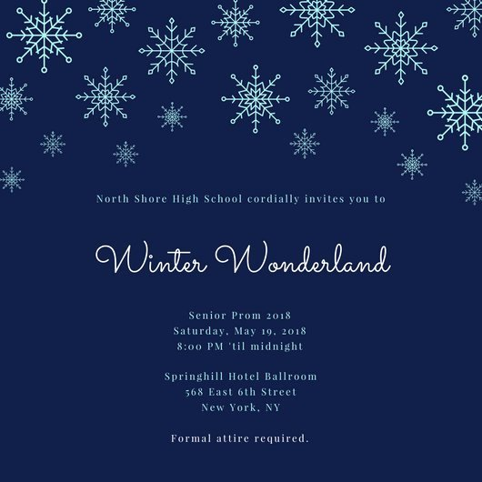 Free Winter Wonderland Invitations Templates Luxury Winter Wonderland Invitation
