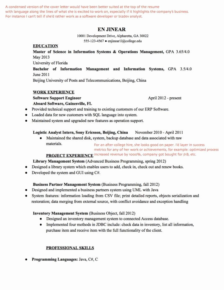 Front End Developer Resume Template Elegant Front End Developer Resume