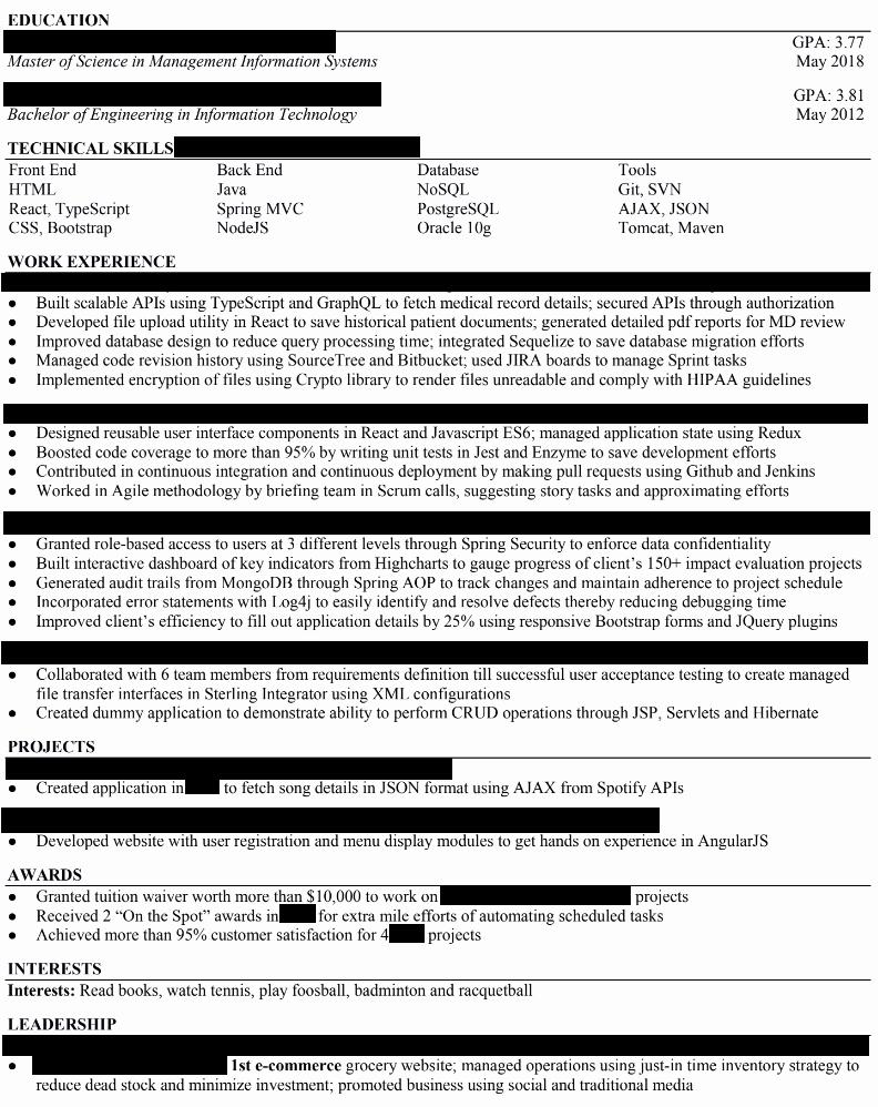 Front End Web Developer Resume Lovely Publicado Resume Doc Front End Web Developer Resume Template Developer Resume