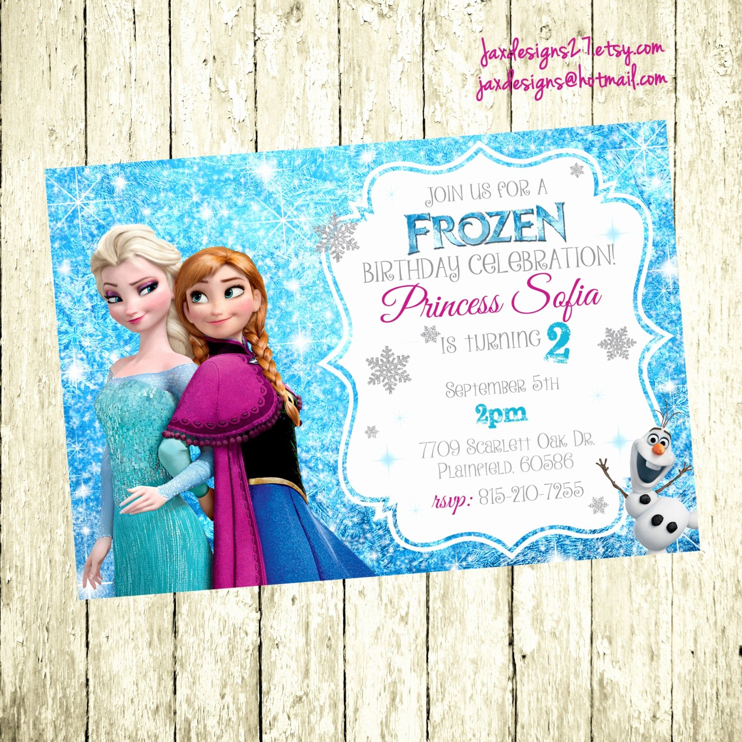 Frozen Bday Party Invitations Beautiful Frozen Birthday Invitation Frozen Birthday Party Frozen