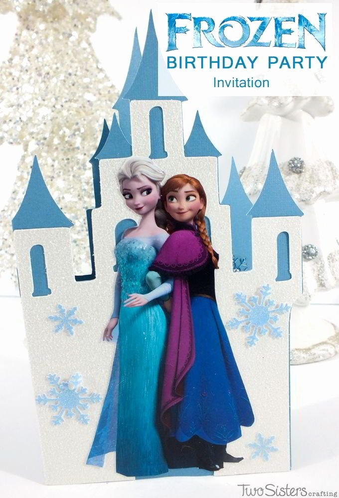 Frozen Bday Party Invitations Beautiful Frozen Birthday Party Invitations