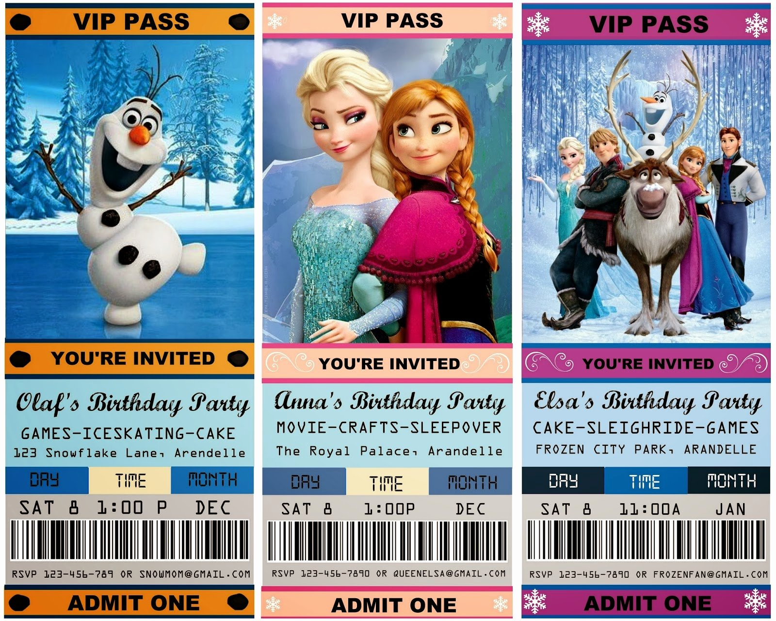 Frozen Bday Party Invitations Inspirational 12 Cool Frozen Party Ideas