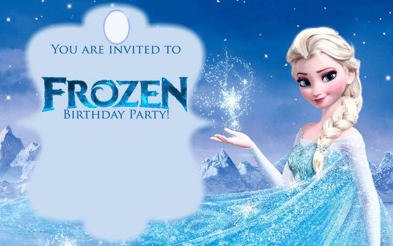 Frozen Bday Party Invitations Luxury 12 Free Frozen Party Printables Saving by Design