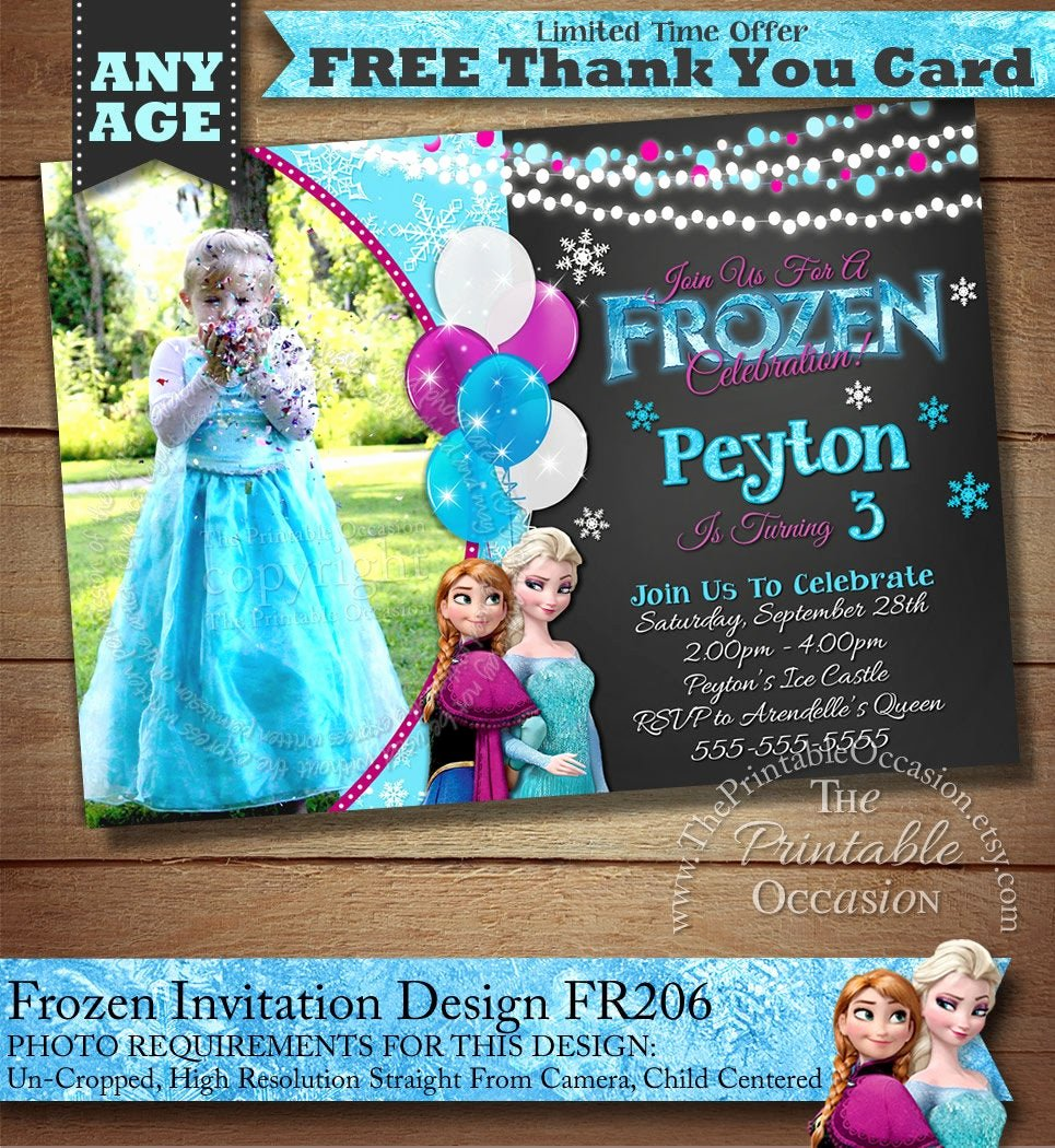 Frozen Bday Party Invitations Luxury Frozen Birthday Invitation Frozen Birthday Party Frozen
