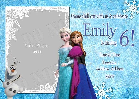 Frozen Birthday Invitations Cards Fresh Elsa Frozen Birthday Party Invitation Ideas – Bagvania Free Printable Invitation Template