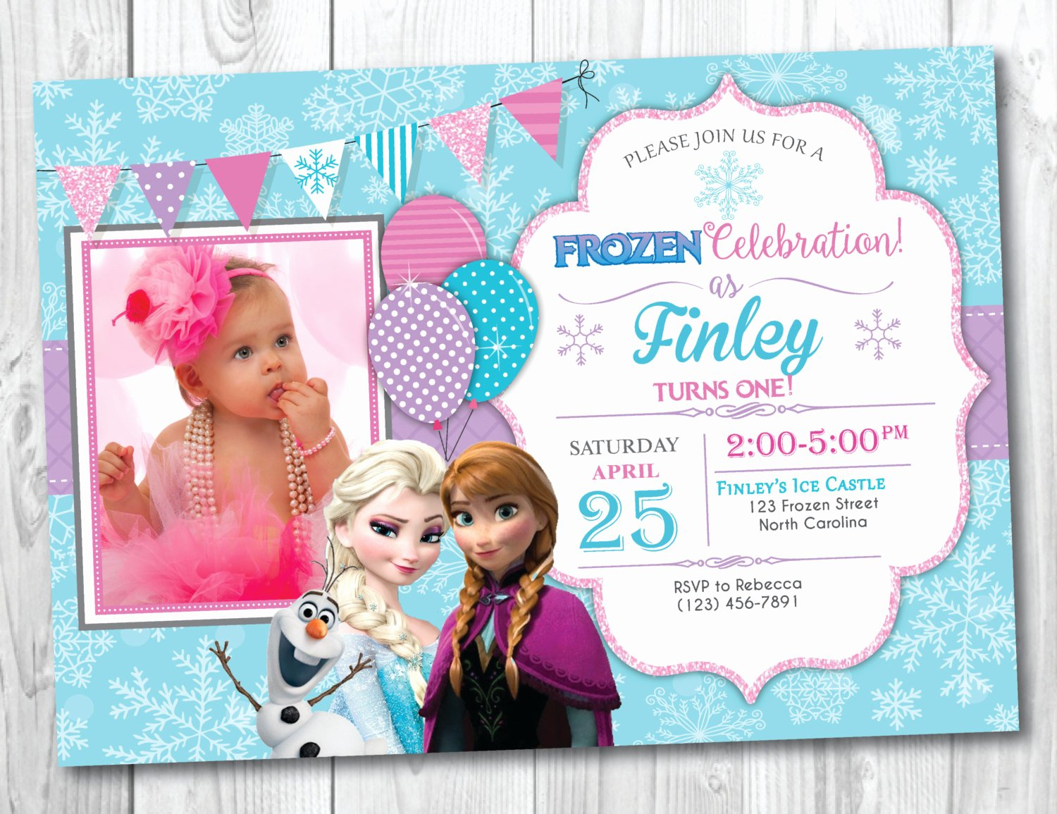 Frozen Birthday Invitations Wording Awesome Frozen Birthday Invitation Printable with Frozen