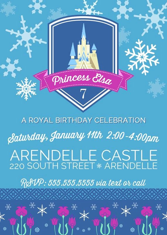 Frozen Birthday Invitations Wording Beautiful Frozen Invitation Wording