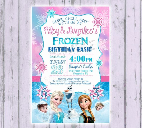Frozen Birthday Invitations Wording Best Of Frozen Invitation Frozen Birthday by Poshpaisleyboutique