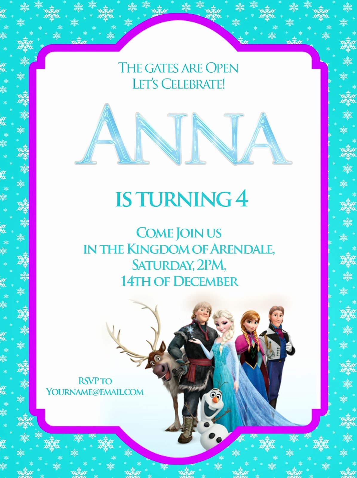 Frozen Birthday Invitations Wording Elegant I Make I Disney Frozen Free Printable Invitation