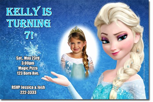 Frozen Birthday Invites Template Best Of Elsa Frozen Birthday Party Invitation Ideas – Bagvania Free Printable Invitation Template