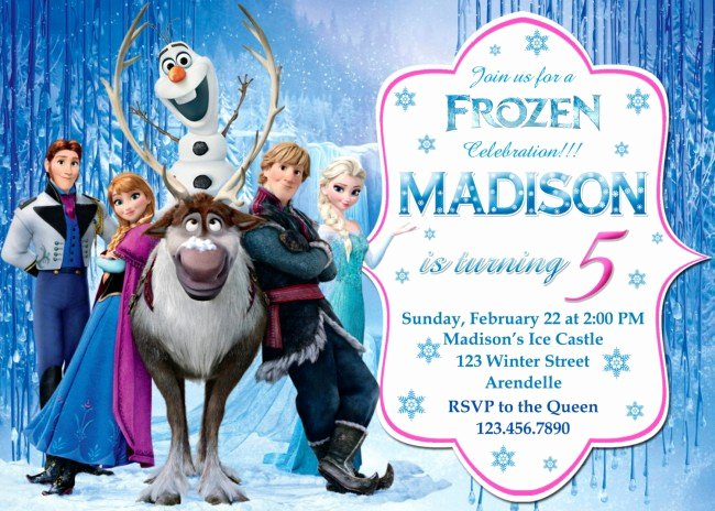 Frozen Birthday Invites Template Elegant How to Frozen Birthday Invitations