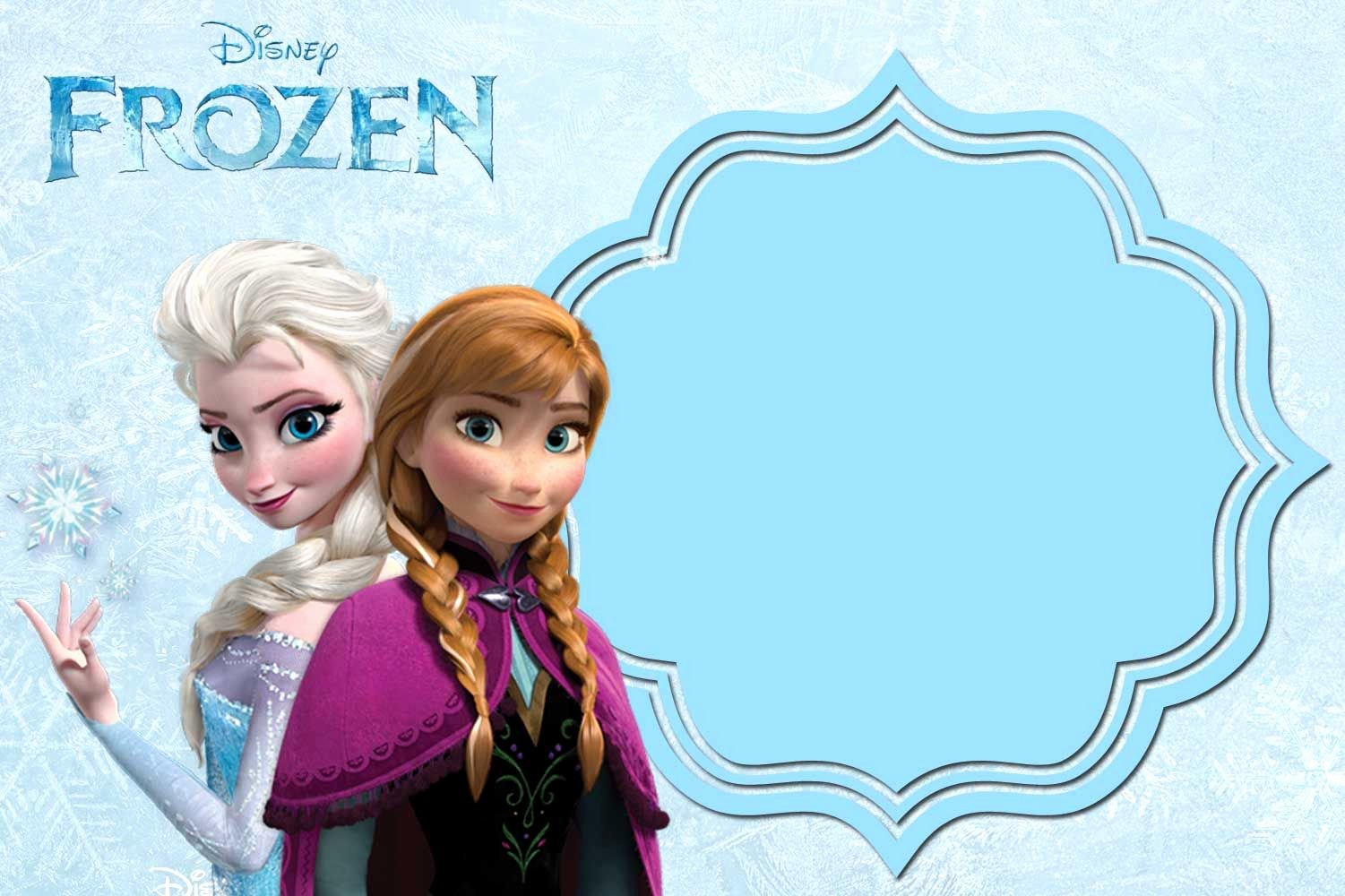 Frozen Birthday Invites Template Elegant Pin On Free Printable Birthday Invitation