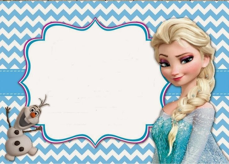 Frozen Birthday Invites Template Fresh Frozen Invitaciones Para Imprimir Gratis Cumpleaños Pinterest