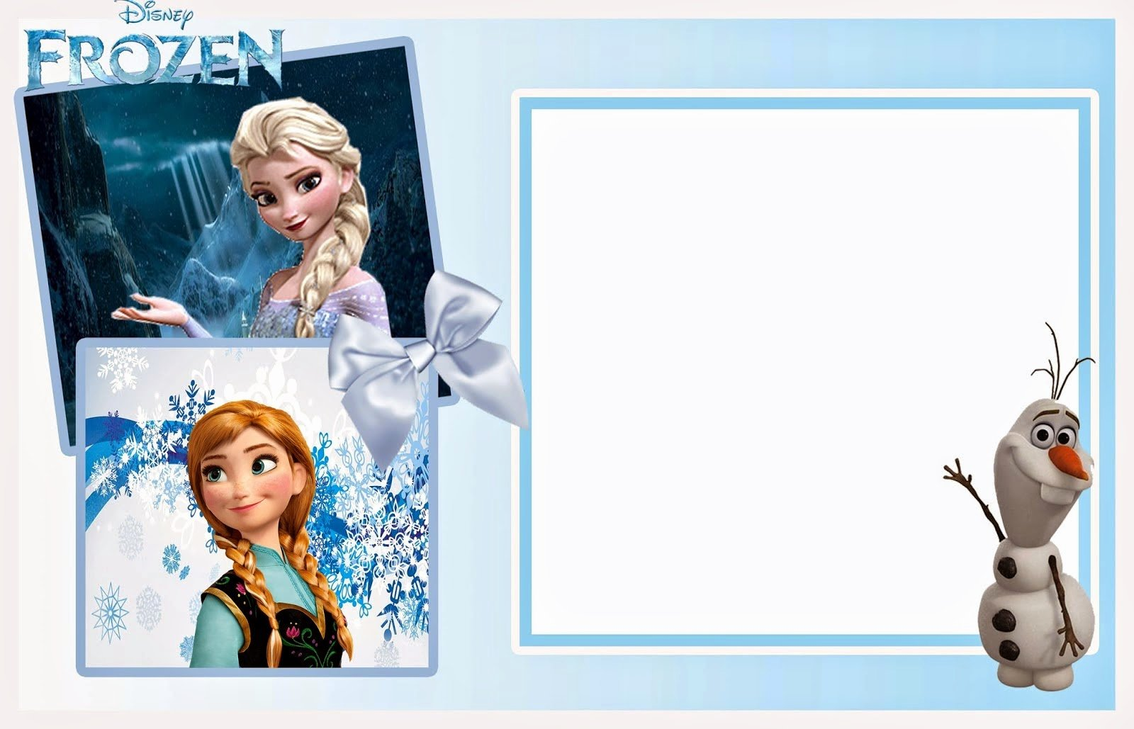 Frozen Birthday Invites Template Unique 24 Heartwarming Frozen Birthday Invitations