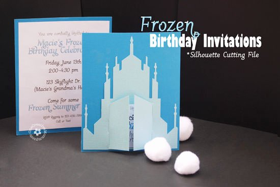 Frozen Birthday Party Invitations Elegant How to Host A Frozen Party Onecreativemommy