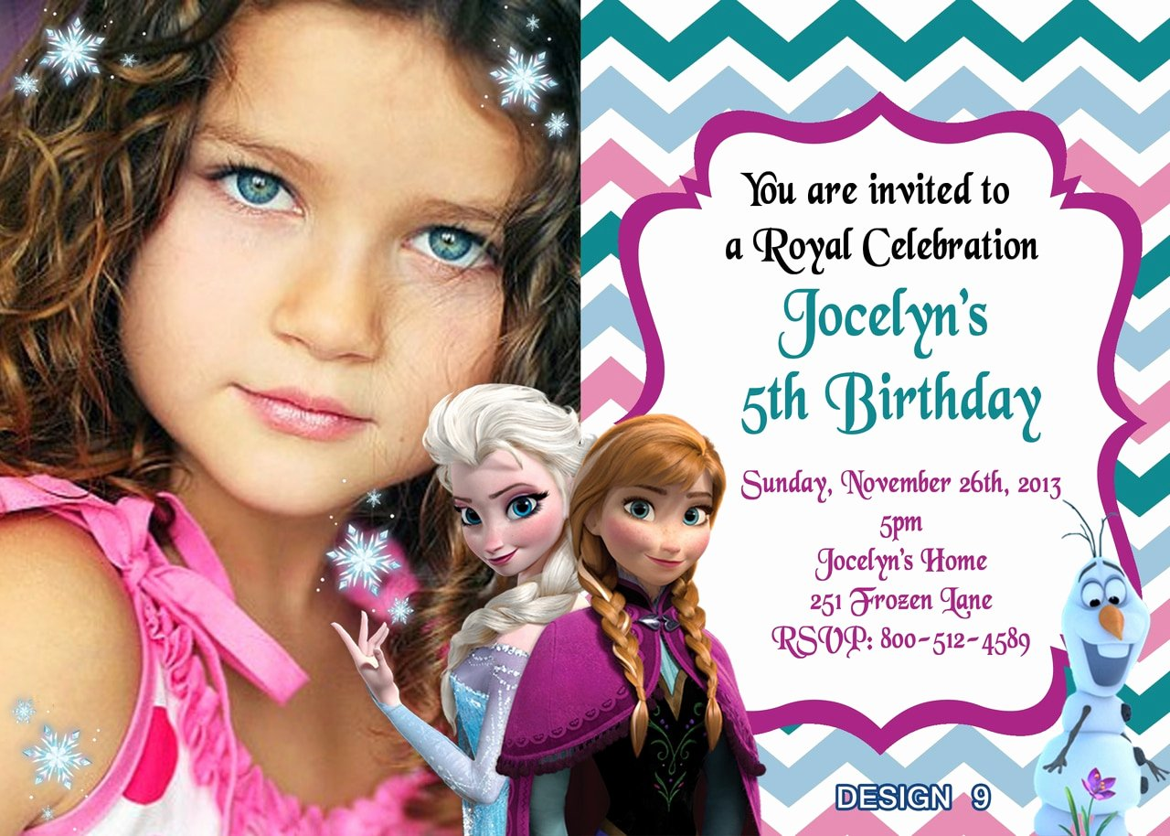 Frozen Birthday Party Invitations Fresh Disney Frozen Movie Birthday Invitations Partyexpressinvitations
