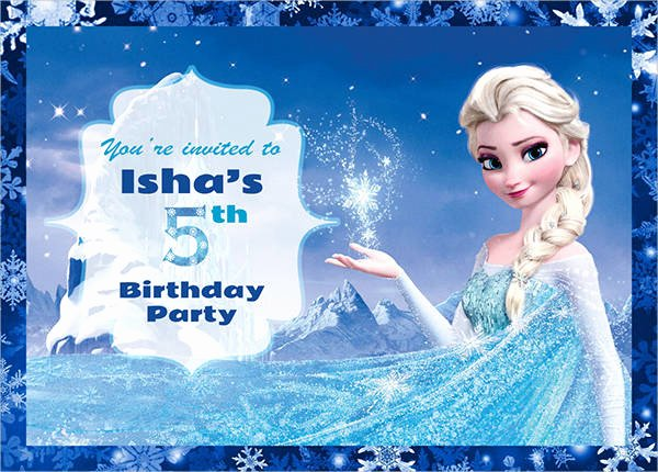 Frozen Invitation Template Free Download Awesome 59 Party Invitations Download Downloadcloud