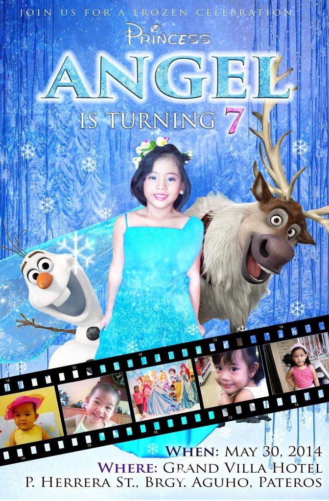 Frozen Invitation Template Free Download Beautiful 13 Frozen Invitation Templates to Download and Inspiration