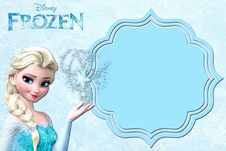 Frozen Invitation Template Free Download Elegant Free Printable Frozen Invitation Templates – Bagvania Free