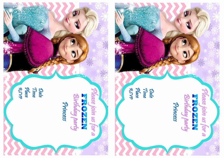 Frozen Invitation Template Free Download Elegant Frozen Sleepover Invitation