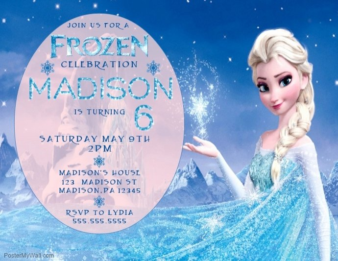 Frozen Invitation Template Free Download New Copy Of Frozen Birthday Invitation