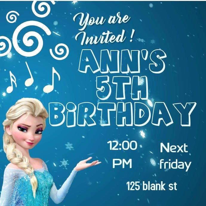 Frozen Invitation Template Free Download Unique Frozen Invitation Template