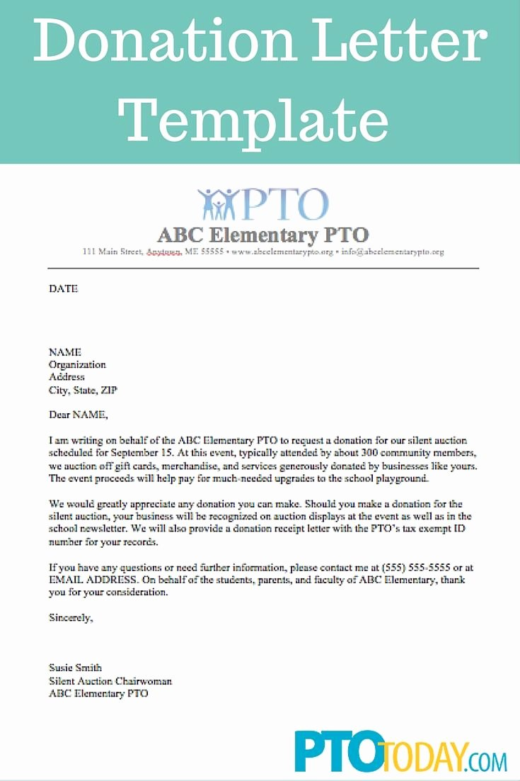 Fundraising Letter to Parents Beautiful Use This Template to Send Out Requests for Donations to Support Your Group Pto Pta