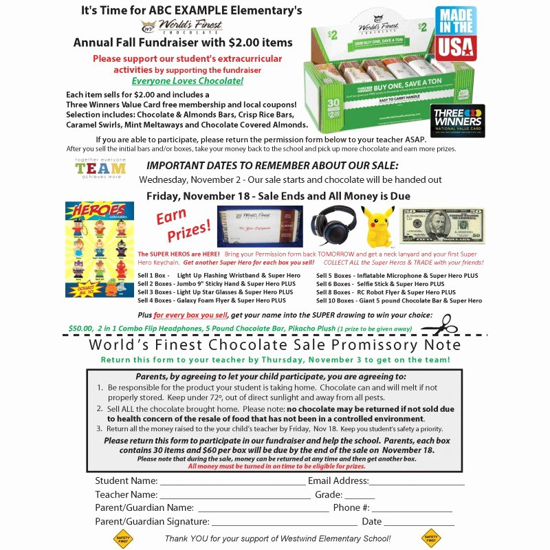 Fundraising Letter to Parents Best Of Parent Letter Super Hero Super Rewards Fundraiser Prize Awards Program