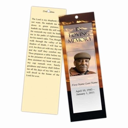 Funeral Bookmarks Template Free Best Of 12 Best Memorial Bookmarks Printable Templates Images On Pinterest