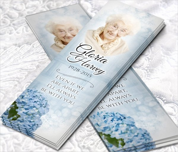 Funeral Bookmarks Template Free Fresh 10 Memorial Bookmarks Templates Psd Ai Eps