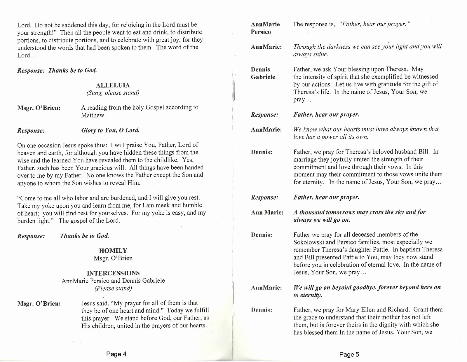 Funeral Mass Program Template Lovely 29 Of Catholic Obituary Template