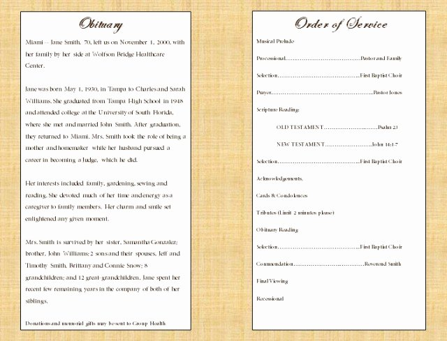 Funeral Mass Program Template Luxury Catholic Funeral Program Free Download Aashe