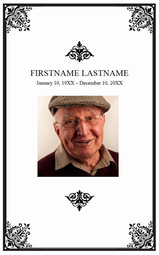 Funeral Mass Program Template Unique Funeral Booklets Clearprintsdigital