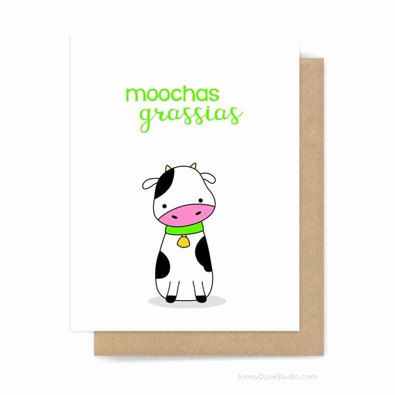 Funny Thank You Notes Beautiful Funny Thank You Card for Friend Her Him Thanks Notes Notecards