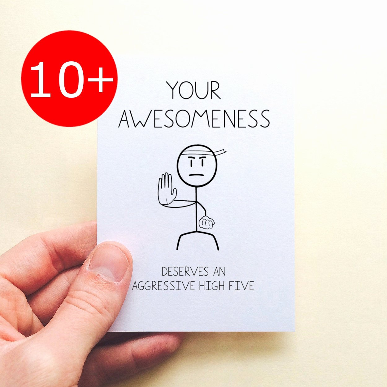 Funny Thank You Notes Fresh Funny Thank You Note Cards Set Your Awesomeness Aggressive