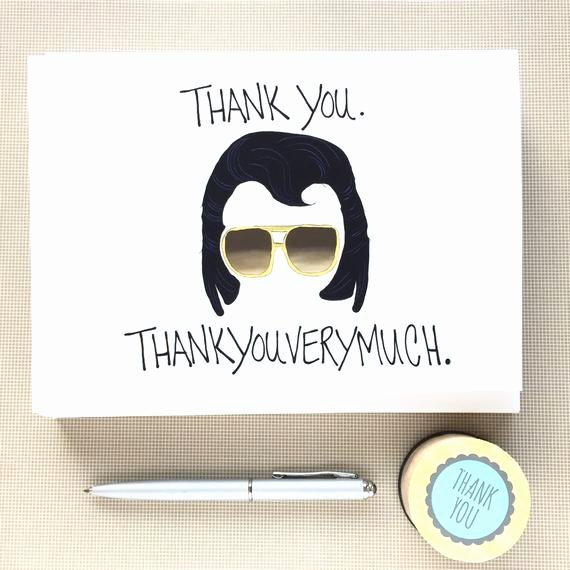 Funny Thank You Notes New Funny Thank You Notes Set Thank You Note by Debbiedrawsfunny