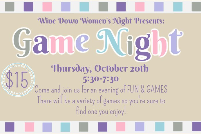 Game Night Flyer Template Lovely Game Night Flyer Template