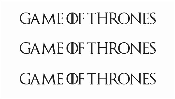 Game Of Thrones Font Beautiful 7 Amazing Games Thrones Fonts