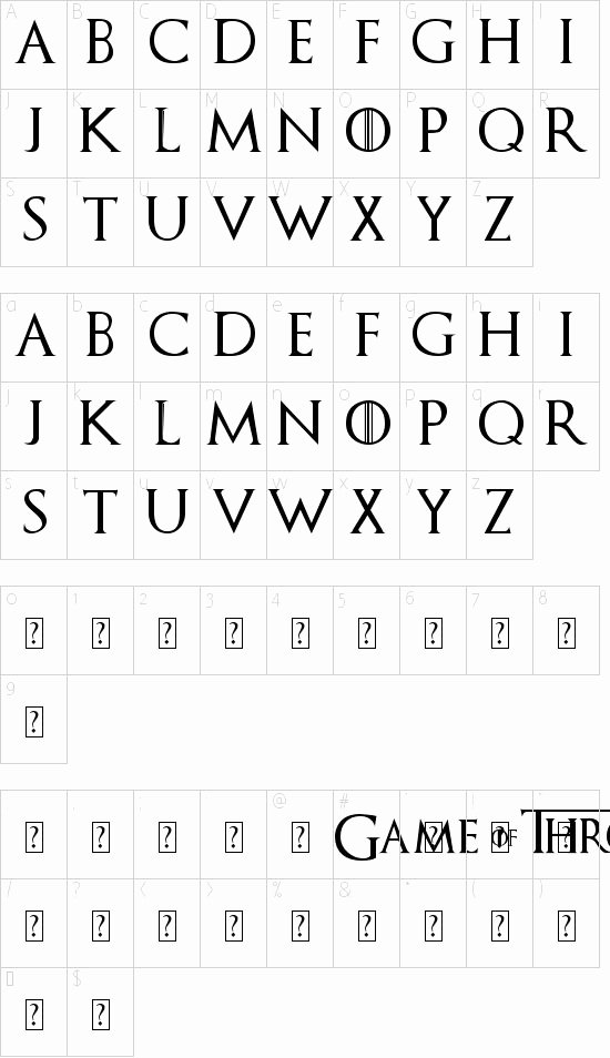 Game Of Thrones Font Best Of Got Font Download It Install It and Use It In Word to Make Banners