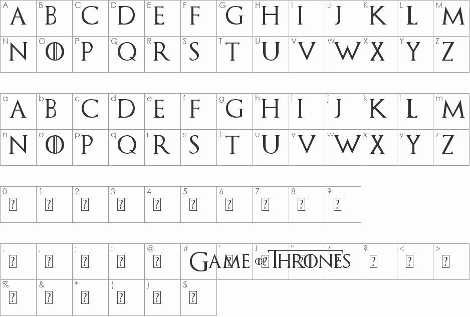 Game Of Thrones Font Inspirational Download Free Game Of Thrones Font Fonts100