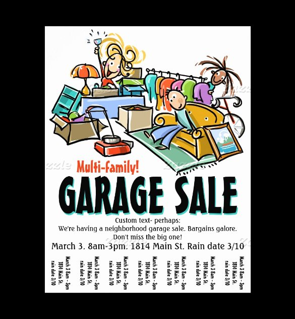 Garage Sale Flyer Template Free Awesome 21 Best Yard Sale Flyer Templates & Psd Word Eps