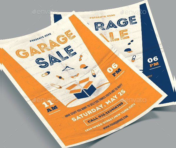 Garage Sale Flyer Template Free Beautiful 27 Garage Sale Flyer Templates Free & Premium Download