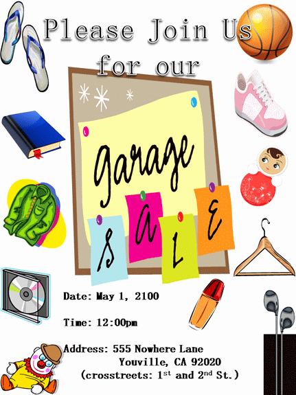 Garage Sale Flyer Template Free Fresh Dentrodabiblia Church Rummage Sale Flyer Template