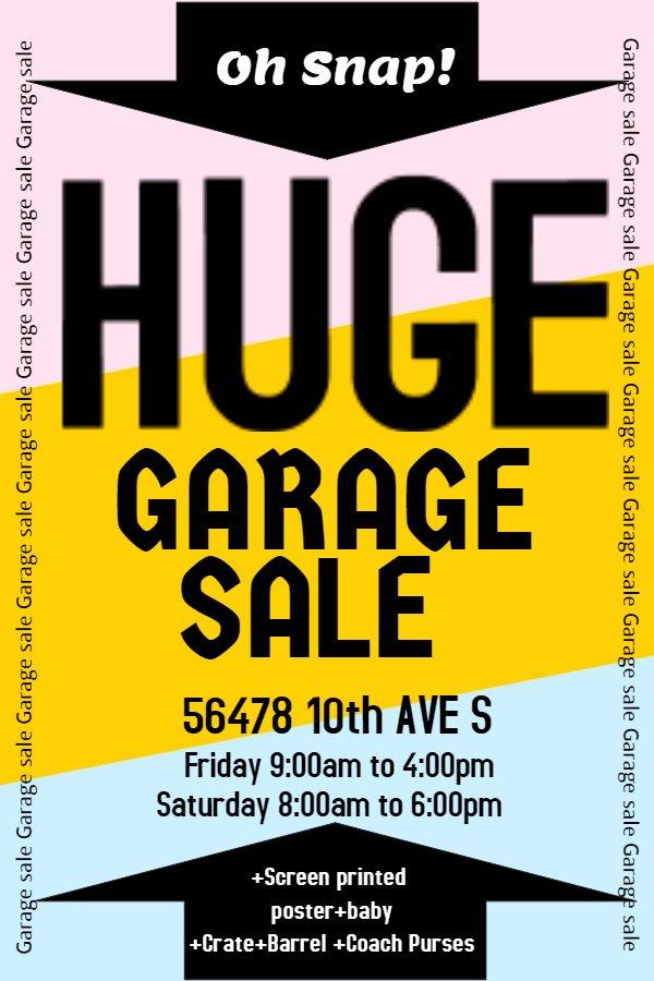 Garage Sale Flyer Template Free Luxury New Flyer Templates for Spring & Garage Sales